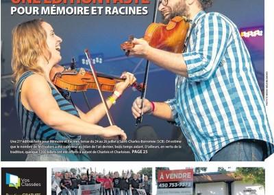 Journal L'action Joliette